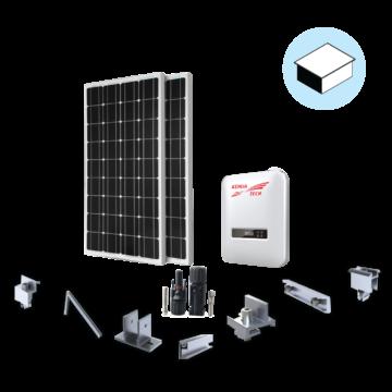 HPC Solar Premium 1P 3KWP dành cho nhà mái bằng
