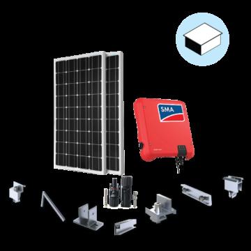 HPC Solar Deluxe 1P 3KWP dành cho nhà mái bằng