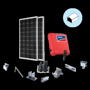 HPC Solar Deluxe 1P 3KWP dành cho nhà mái nghiêng