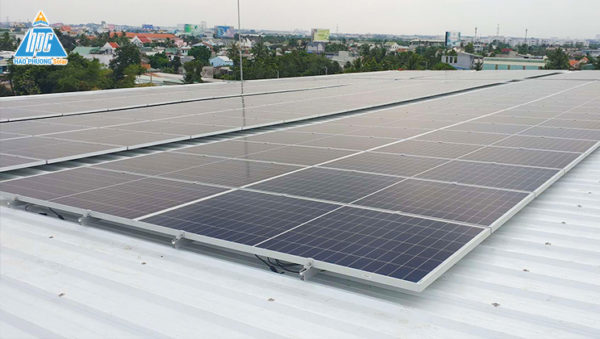 Hạo Phương Solar lắp đặt điện mặt trời cho Công ty Cổ Phần Hạo Phương