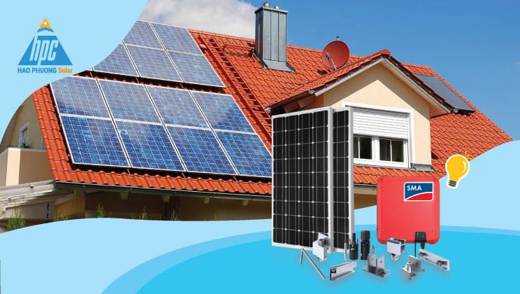 Chất lượng tạo nên sự khác biệt - HPC SOLAR DELUXE 1P 3KWP dành cho nhà mái nghiêng
