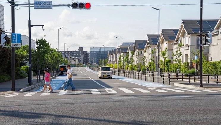 Thành phố xanh ở Nhật Bản sử dụng năng lượng mặt trời
