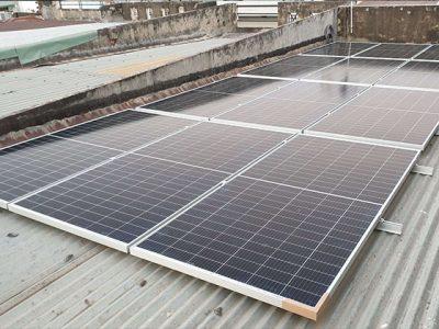 Hạo Phương Solar lắp đặt điện mặt trời hòa lưới công suất 5KWP cho khách hàng