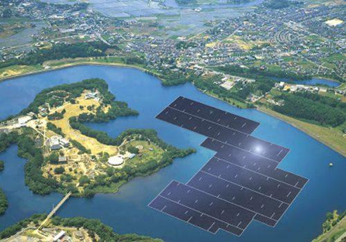 Hòn đảo năng lượng mặt trời nổi